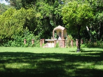 Shrine on the Grounds of the Rancho Los Putos image. Click for full size.
