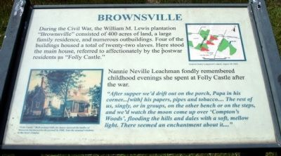 Brownsville Marker image. Click for full size.