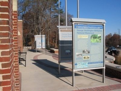 One in a Set of Marker at the Welcome Center image. Click for full size.
