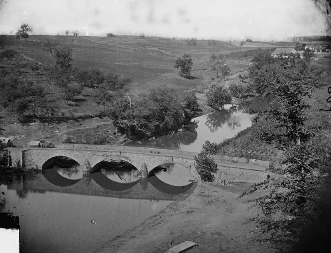 "The ""Antietam Bridge"" image. Click for full size."