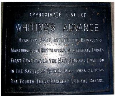 Whiting's Advance Marker image. Click for full size.