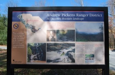 Andrew Pickens Ranger District Marker image. Click for full size.