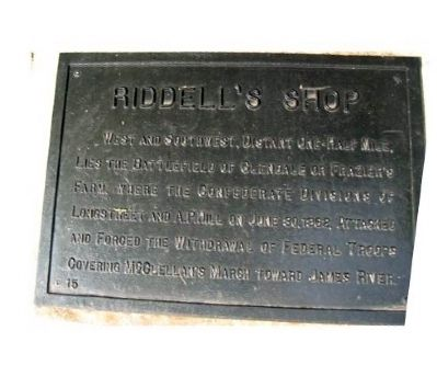 Riddell's Shop Marker image. Click for full size.