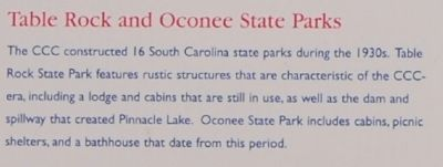 Walhalla State Fish Hatchery Marker - Table Rock and Oconee State Parks image. Click for full size.