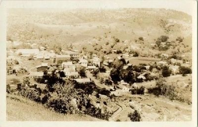 Vintage Postcard - Mokelumne Hill image. Click for full size.