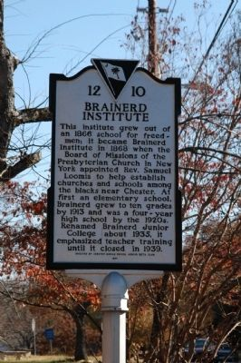 Brainerd Institute Marker image. Click for full size.