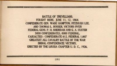 Battlefield Markers Association, Western Division (1929) image. Click for full size.