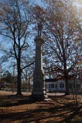 Fairfield County Confederate Monument image. Click for full size.