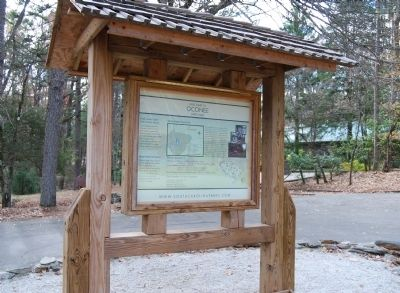 Oconee State Park Marker image. Click for full size.