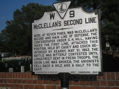 McClellan's Second Line Marker image. Click for full size.
