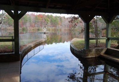 Oconee State Park Lake from the Boat House image. Click for full size.