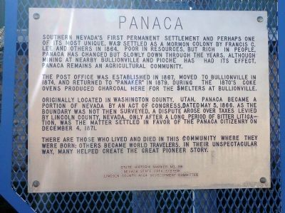 Panaca Marker image. Click for full size.