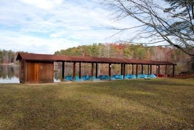 Oconee State Park Boathouse image. Click for full size.