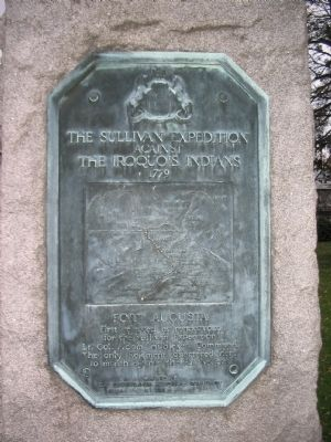 The Sullivan Expedition Marker image. Click for full size.