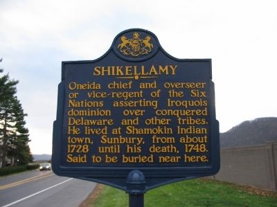 Shikellamy Marker image. Click for full size.