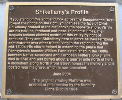 Shikellamy's Profile Marker image. Click for full size.