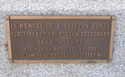 J. Clifton Toney Marker image. Click for full size.