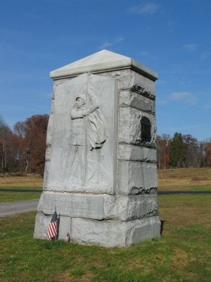 4th Michigan Infantry Monument image. Click for full size.