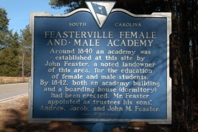 Feasterville Female and Male Academy Marker image. Click for full size.