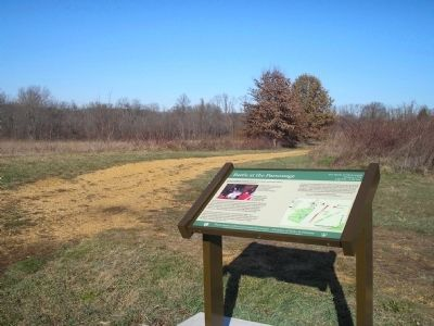 Marker on the Monmouth Battlefield image. Click for full size.