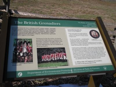 The British Grenadiers Marker image. Click for full size.