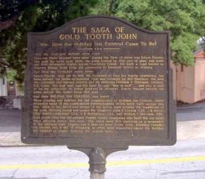 The Saga of Gold Tooth John Marker image. Click for full size.