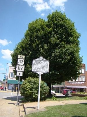 Buckhannon / Frontier Days Marker image. Click for full size.