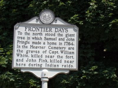 Frontier Days face of Marker image, Touch for more information