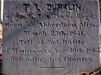Dunklin Monument image. Click for full size.