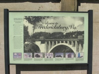 Welcome to Fredericksburg, Va Marker image. Click for full size.