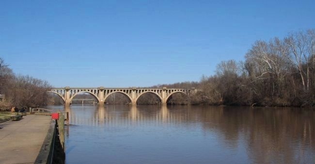 Railroad Bridge over the Rappahannock image. Click for full size.