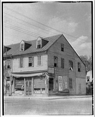 The John Paul Jones House ca. 1910 image. Click for full size.
