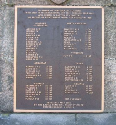 Tablet Detailing Internments on Barton Street image. Click for full size.
