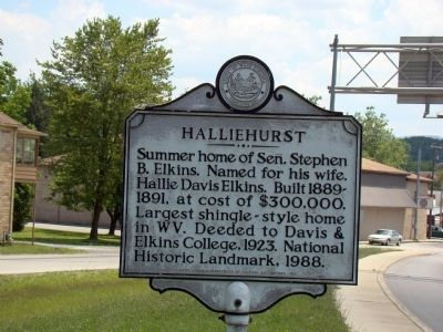 Halliehurst Face of Marker image. Click for full size.