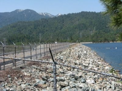 The Clair A. Hill Whiskeytown Dam image. Click for full size.