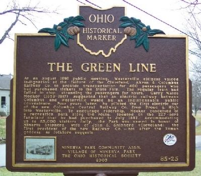 The Green Line Marker (Side B) image. Click for full size.