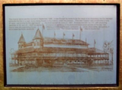 Detail from Minerva Amusement Park Marker image. Click for full size.