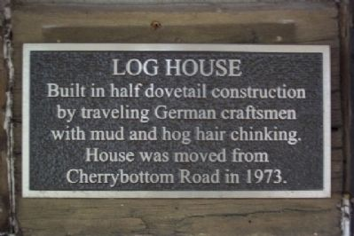 Log House Marker image. Click for full size.