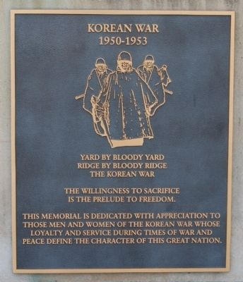 Korean War: 1950-1953 image. Click for full size.