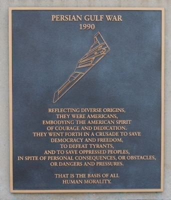 Persian Gulf War: 1990 image. Click for full size.