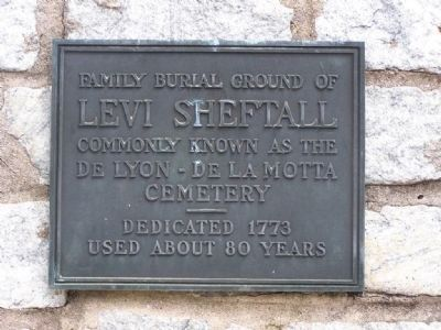 Old Jewish Burial Ground Marker image. Click for full size.
