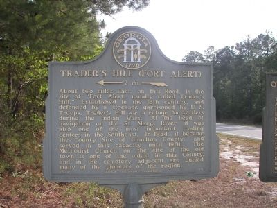 Trader's Hill (Fort Alert) Marker image. Click for full size.