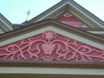 Pediments on the Montague House image. Click for full size.
