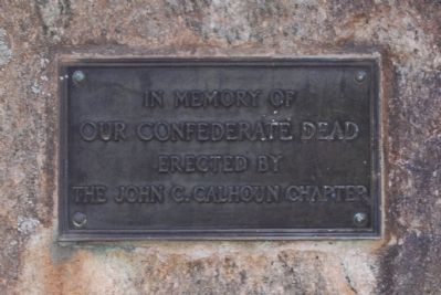 Old Stone Church Confederate Memorial Marker image. Click for full size.