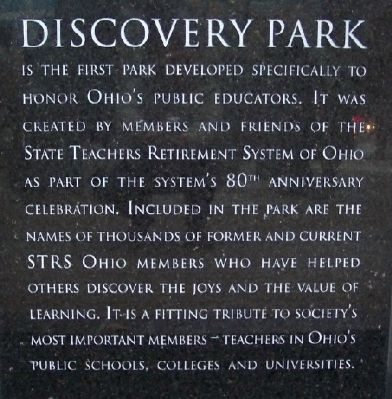Discovery Park Marker image. Click for full size.