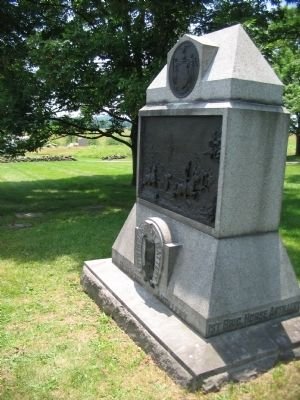 6th Independent Battery, New York Artillery Monument image. Click for full size.