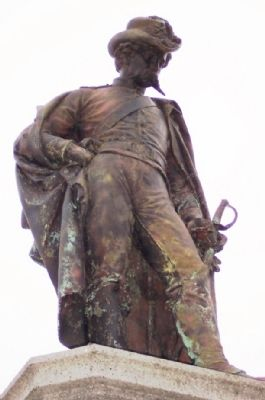 Champaign County Civil War Memorial Statue image. Click for full size.
