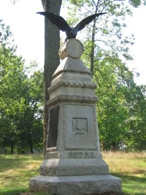 90th Pennsylvania Volunteers Monument image. Click for full size.