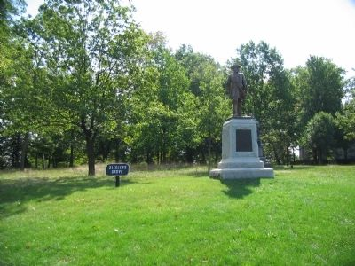 The Hays Monument at North End of Ziegler's Grove image. Click for full size.