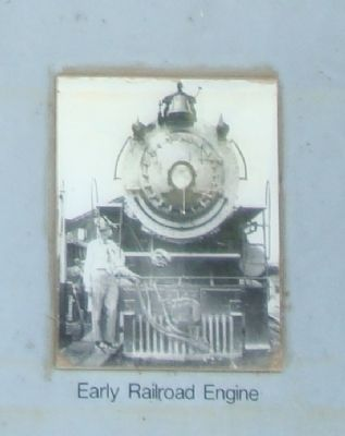 Early Railroad Engine image. Click for full size.